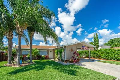 Palm Beach Gardens Single Family Home Contingent: 284 Lighthouse Drive