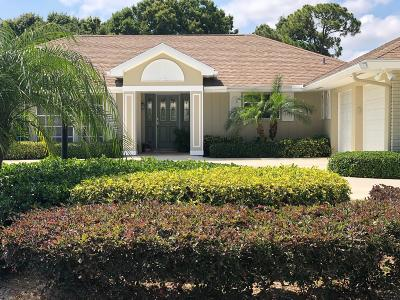 Tequesta Single Family Home Contingent: 64 SE Turtle Creek Drive