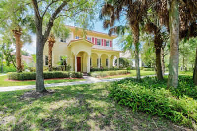 Jupiter Single Family Home For Sale: 116 Glencullen Circle