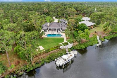 Jupiter Single Family Home For Sale: 7168 SE Rivers Edge Street