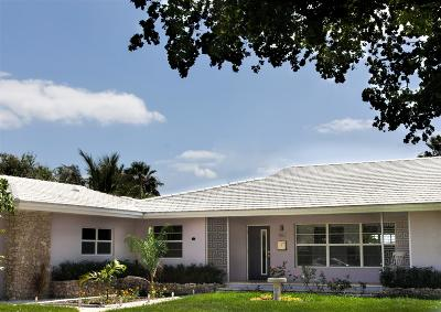 Lake Worth Single Family Home For Sale: 402 Lakeside Drive