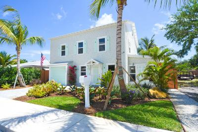 Lake Worth Single Family Home For Sale: 726 O
