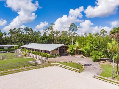 Loxahatchee Groves Single Family Home For Sale: 495 E Road