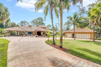 West Palm Beach Single Family Home For Sale: 160 Elaine Road