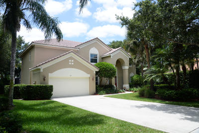 Jupiter Single Family Home Contingent: 512 Preserve Point S