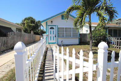 Lake Worth Single Family Home For Sale: 414 5th Avenue