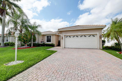Boca Raton Single Family Home For Sale: 22048 Palm Grass Drive