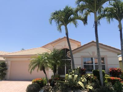 Boynton Beach Single Family Home For Sale: 10549 Sunset Isles Court