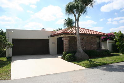 Boca Raton Single Family Home For Sale: 6790 Jardin Place