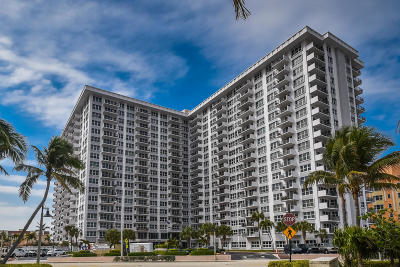 Pompano Beach Rental For Rent: 405 Ocean Boulevard #916