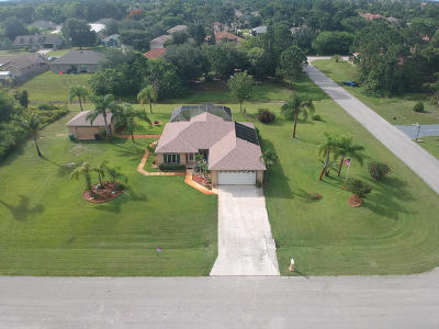 Port Saint Lucie Single Family Home For Sale: 497 SW Copperfield Avenue