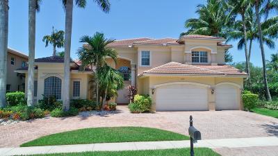 Boynton Beach Single Family Home For Sale: 10719 Canyon Bay Lane