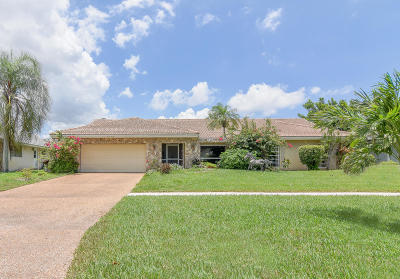 Boynton Beach Single Family Home For Sale: 5395 Piping Rock Drive