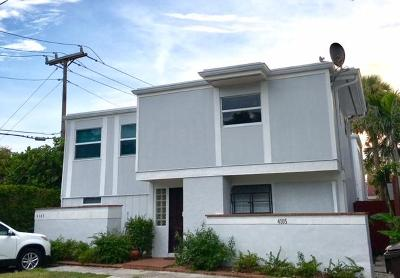 West Palm Beach Multi Family Home For Sale: 4105 Washington Road