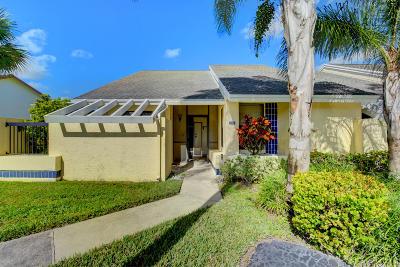 Boca Raton Single Family Home Contingent: 10981 Hidden Lake Place