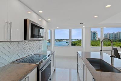 Highland Beach Condo For Sale: 3912 S Ocean Boulevard #605