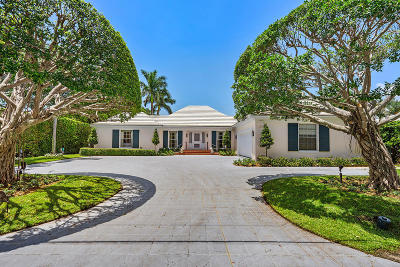 Gulf Stream Single Family Home For Sale: 530 Old School Road