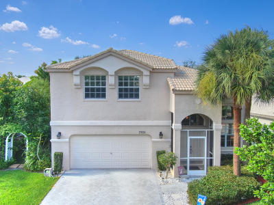 Lake Worth Single Family Home For Sale: 7931 Springvale Drive
