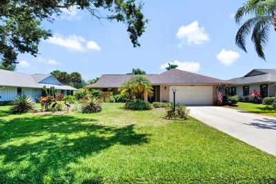 Hobe Sound Single Family Home For Sale: 13119 SE Spyglass Court
