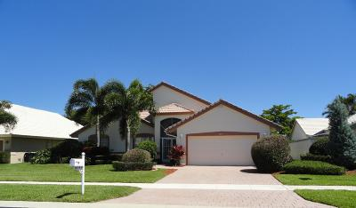 Boynton Beach Single Family Home For Sale: 6091 Hook Lane