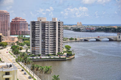 West Palm Beach Rental Leased: 1200 S Flagler Drive #1901