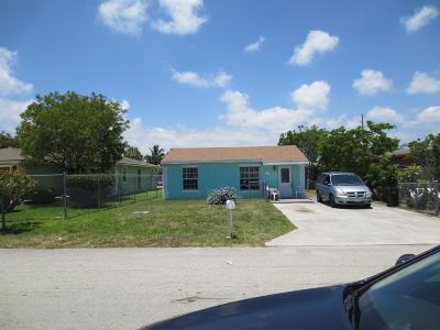 Delray Beach Single Family Home Contingent: 212 SW 11th Avenue