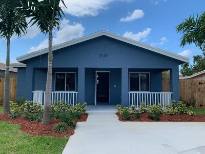 Pompano Beach Single Family Home For Sale: 2135 NW 3rd Street