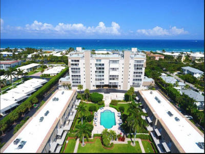 Delray Beach Club, Delray Beach Club Apts Condo Rental For Rent: 2000 S Ocean Boulevard #605