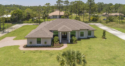 Loxahatchee Single Family Home For Sale: 14316 Citrus Grove Boulevard