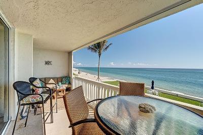 Palm Beach Condo For Sale: 3570 S Ocean Boulevard #301