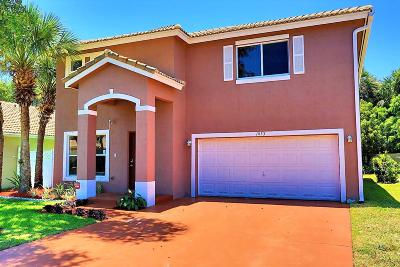 Boynton Beach Single Family Home For Sale: 1033 Fosters Mill Road