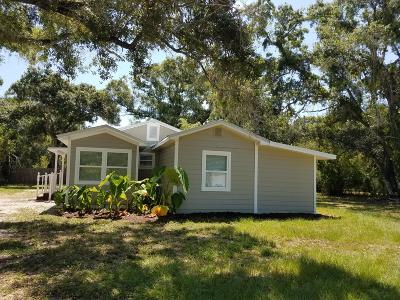 Fort Pierce Single Family Home For Sale: 2102 S 30th S Street