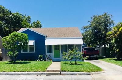 West Palm Beach Single Family Home For Sale: 2407 Parker Avenue