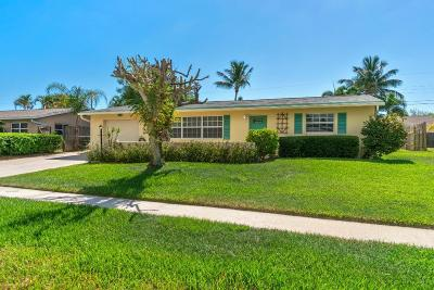 Jupiter Single Family Home For Sale: 217 Circle East