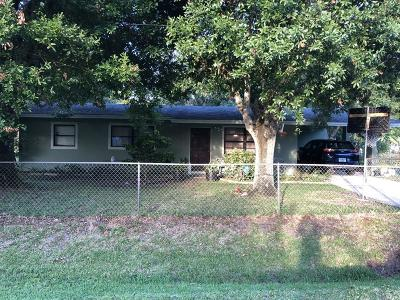 Fort Pierce FL Single Family Home For Sale: $149,500