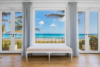 Gulf Stream, Ocean Ridge Single Family Home For Sale: 1465 Ocean Boulevard