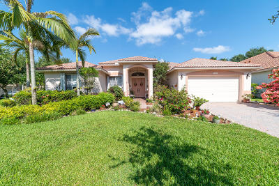 Coconut Creek Single Family Home For Sale: 6407 Mallards Way