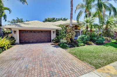 Boca Raton Single Family Home For Sale: 20082 Palm Island Drive