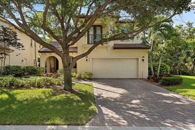 Palm Beach Gardens Single Family Home For Sale: 981 Mill Creek Drive