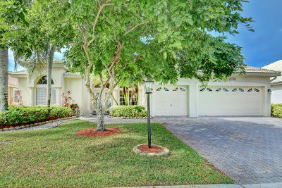Boca Raton Single Family Home For Sale: 12396 Clearfalls Drive
