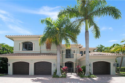 Boca Raton Single Family Home For Sale: 17891 Monte Vista Drive