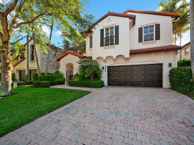 Palm Beach Gardens Single Family Home For Sale: 1626 Nature Court