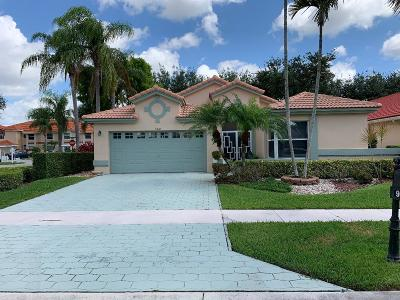 Boynton Beach Single Family Home For Sale: 9802 Harbour Lake Circle