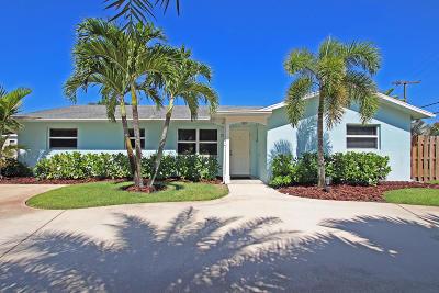 Tequesta Single Family Home Contingent: 1406 Berkshire Avenue