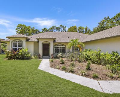 Jupiter Single Family Home For Sale: 13720 151st Lane