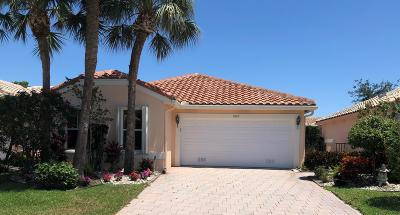 Boynton Beach Single Family Home For Sale: 5069 Pelican Cove Drive