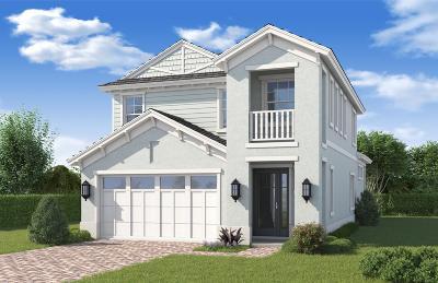 Palm Beach Gardens Single Family Home For Sale: 101 Bonnette Hunt Club Lane