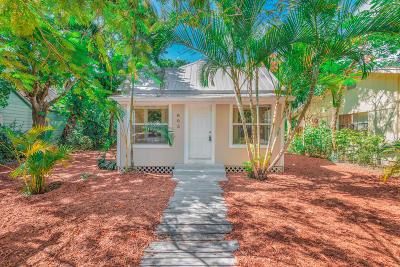 Fort Pierce Single Family Home Contingent: 803 Citrus Avenue