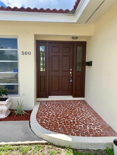 Boca Raton Single Family Home For Sale: 500 SW 15th Ave.