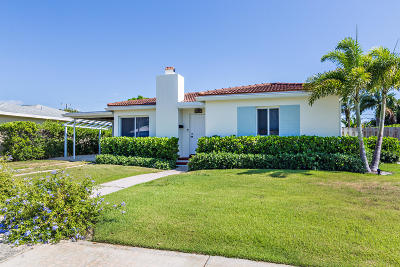 West Palm Beach Single Family Home For Sale: 247 Bloomfield Drive